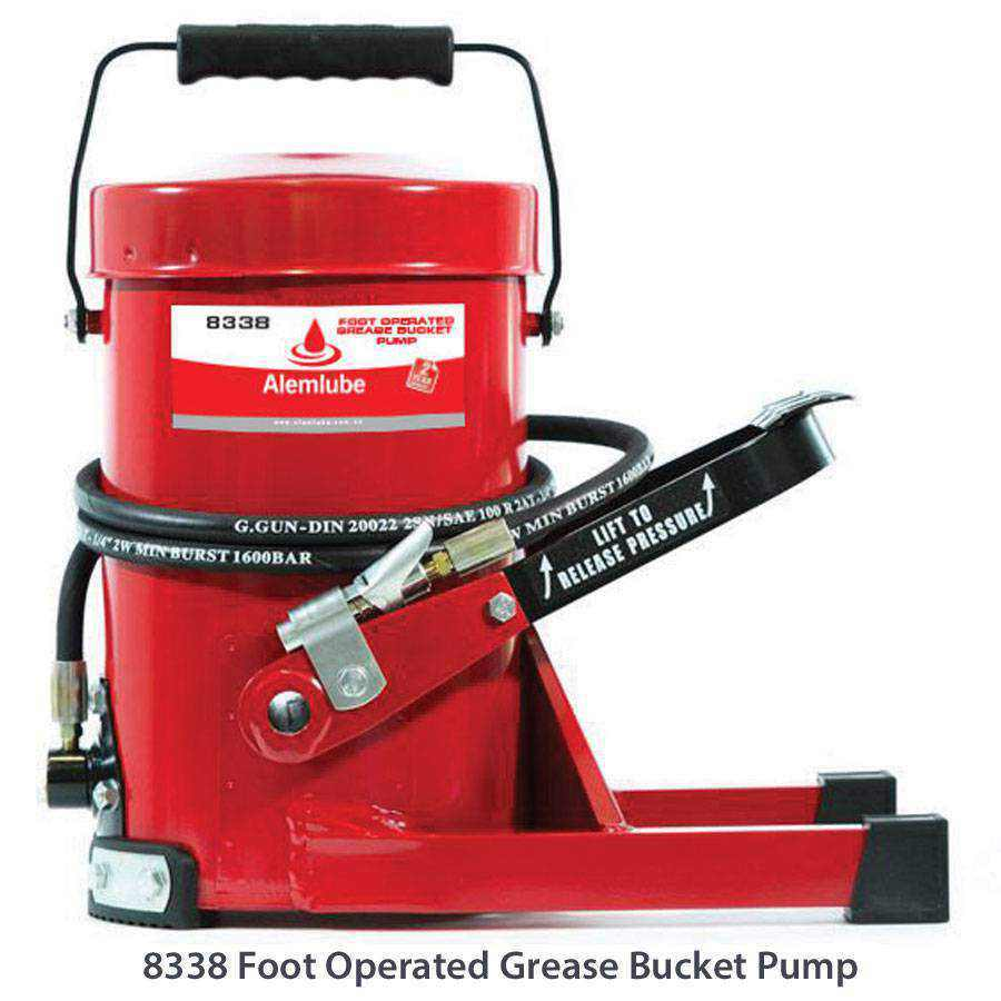 Electric Grease Gun >> Manual Grease Pumps - Ease