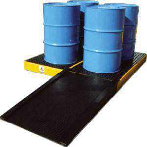 Drum Storage & Spill Containment