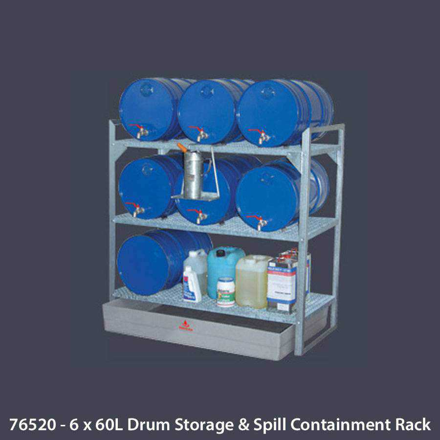Drum Spill Containment Ease