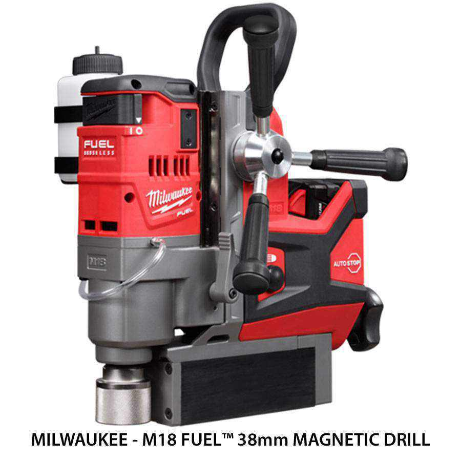 Milwaukee M18 Fuel Mag Drill Ease