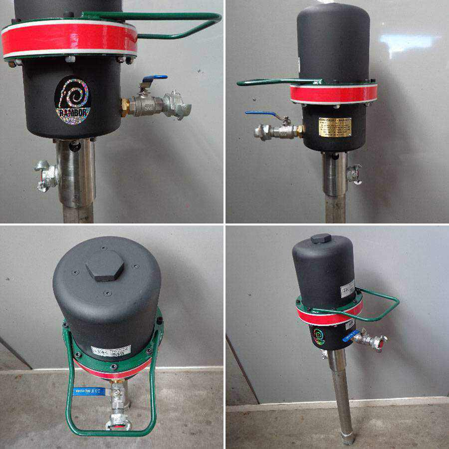Electric Hydraulic Pump >> a) RAMBOR Grout Pump, Mixing Bowl & Motor - Ease