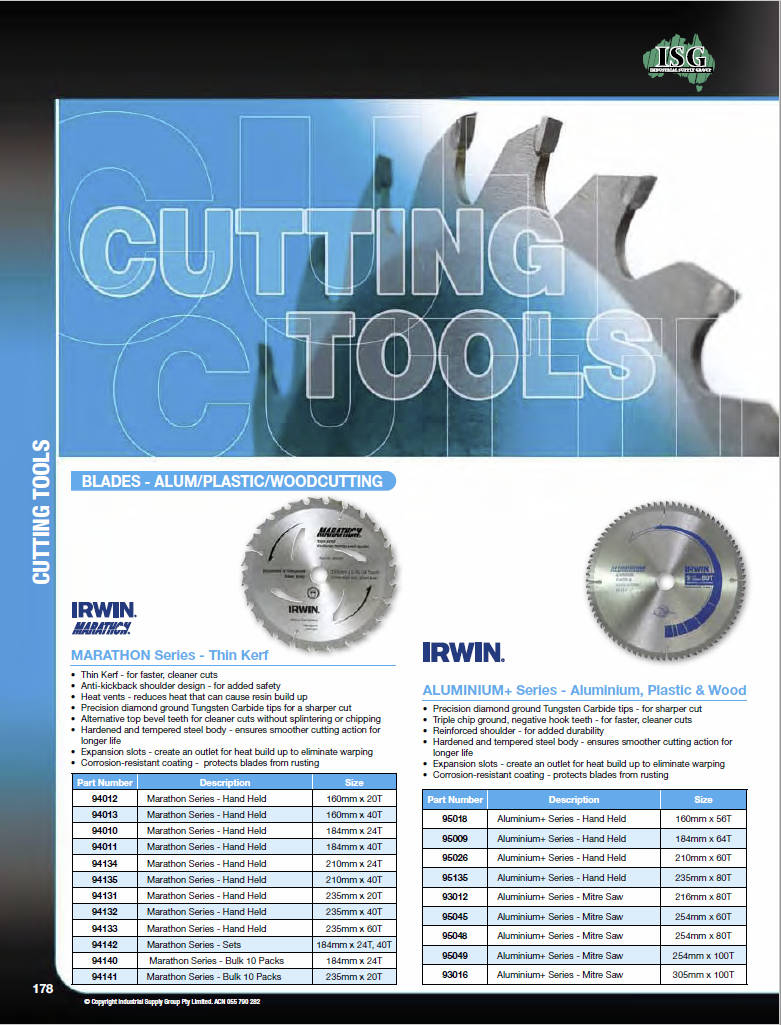 ISG Catalogue - Section 3 - Hand Tools