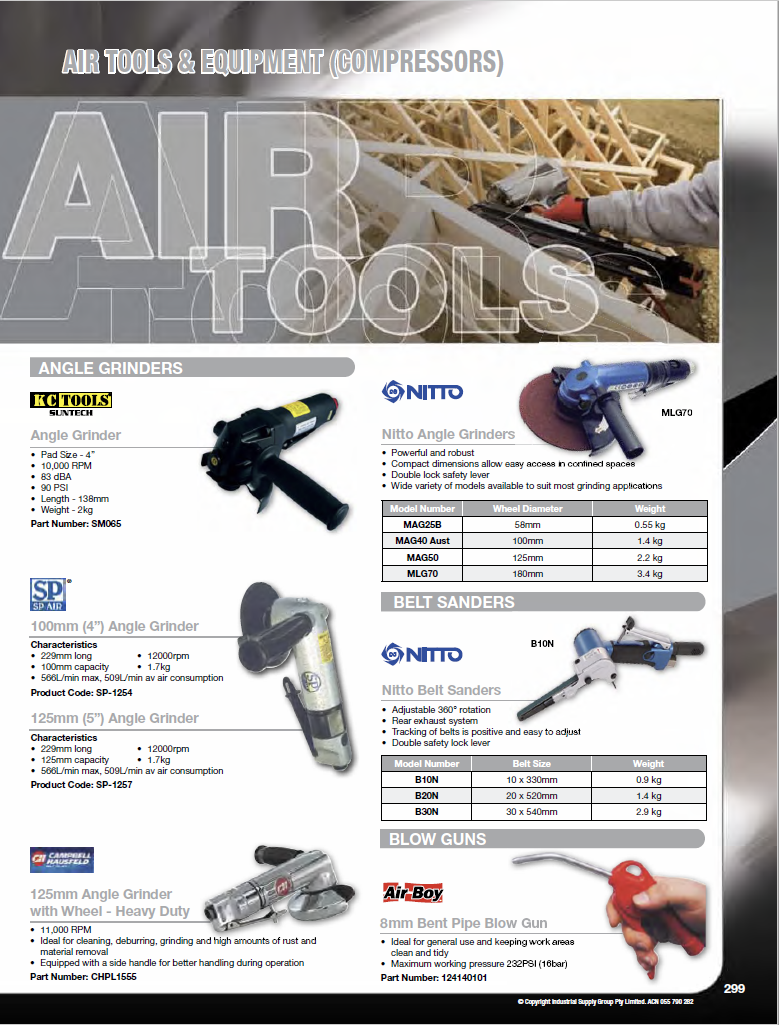 ISG Catalogue - Section 6 - Air Tools
